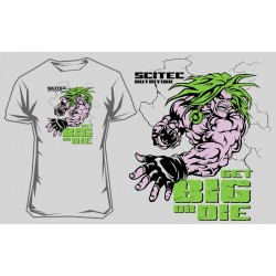 "T-SHIRT SCITEC - ""Get Big Or Die 2"""