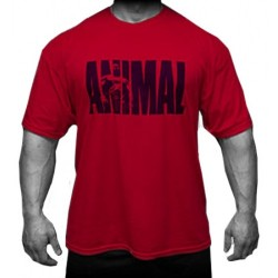 T-SHIRT ANIMAL - ROSSA