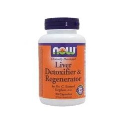 NOW FOOD - Liver Detoxifier & Regenerator - 90 caps