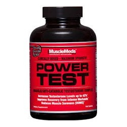 MUSCLEMEDS - POWER TEST 168CPS
