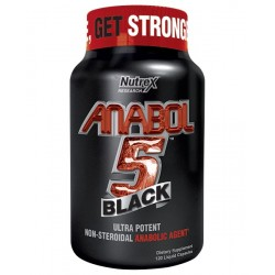 NUTREX - ANABOL-5 ANABOLIC AMPLIFIER (PRE WORKOUT FORMULA) 120 C