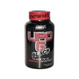 NUTREX - LIPO 6 BLACK 240CPS - ORIGINAL USA VERSION