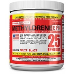 CLOMA PHARMA - METHYLDRENE-EPH25 PRE WORKOUT FORMULA 270GR