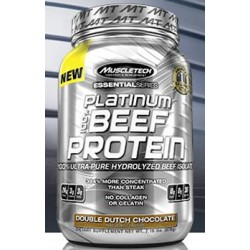 MUSCLETECH - PLATINUM BEEF PROTEIN 2LBS
