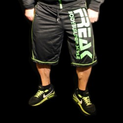 FREAK - Shorts Black Green