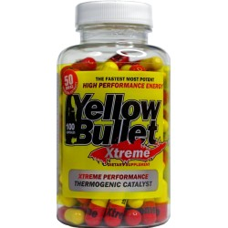 DELTA HEALTH PRODUCTS-YELLOW BULLET 100 CAPS