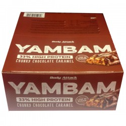 Body Attack - YAMBAM Protein Bar 15X80GR