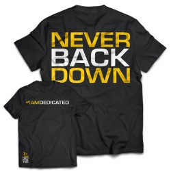 DEDICATED T-SHIRT - NEVER...