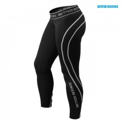 ATHLETE TIGHTS BLACK/GREY X-SMALL