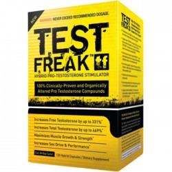 PHARMA FREAK - TEST FREAK 120CAPS