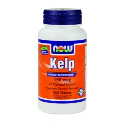 NOW FOOD - KELP 150mg ,...