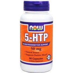 NOW FOOD - 5-HTP 50MG 90 CAPS