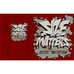 "T-Shirt ""SIZE METTERS"" - SCITEC"