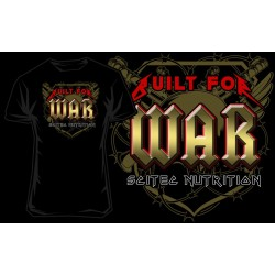 "T-Shirt ""built for war"" - SCITEC"