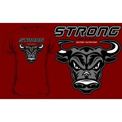 "T-Shirt "" STRONG LIKE A BULL"" - SCITEC"