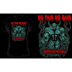 "T-Shirt "" NO PAIN"" - SCITEC"