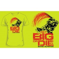 "T-Shirt "" GET BIG OR DIE III"" - SCITEC"