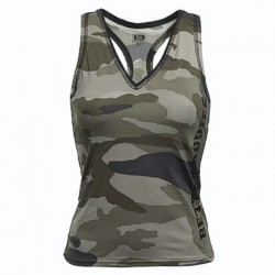 CHERRY H.CAMO T-BACK CAMOPRINT LARGE