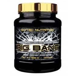 SCITEC - Big Bang - Pre Workout Formula 50 Elements