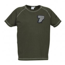 TEXAS RAGLAN TEE KHAKI GREEN MEDIUM