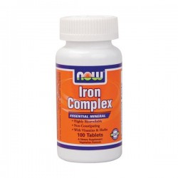 NOW FOOD - IRON COMPLEX 100CAPS