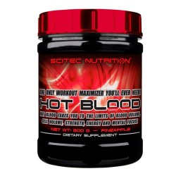 SCITEC - HOT BLOOD 300GR