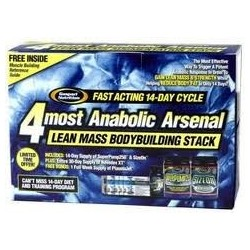 GASPARI 4MOST ANABOLIC ARSENAL KIT