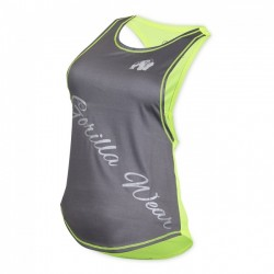GW FLORIDA STRINGER TANK TOP -GRAY/NEON LIME-XS