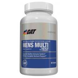 GAT -  MENS MULTI +TEST 60TABS