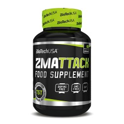BIOTECH USA - ZMA ATTACK 60CPS