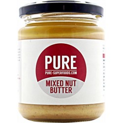 PURE SUPERFOODS - NATURAL CASHEW BUTTER (ANACARDO)