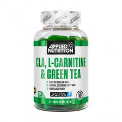 Applied Nutrition - CLA + L-CARNITINE + GREEN TEA - 100SOFTGELS