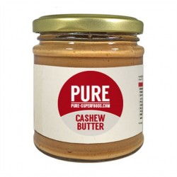 PURE SUPERFOODS - PURE CASHEW BUTTER 170GR