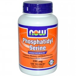 NOW Foods - Phosphatidyl Serine, 100mg