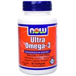 NOW FOODS - ULTRA OMEGA 3 - 180 SOFTGELS