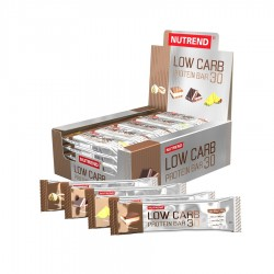 NUTREND - LOW CARB PROTEIN BAR 24X80GR