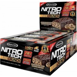 NITROTECH - 92GR CRUNCH BARS 6X BOX