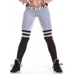 NEBBIA - FITNESS LEGGINGS SOX WHITE, GREY