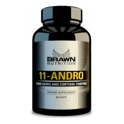 BRAWN NUTRITION - 11-ANDRO , 90CPS