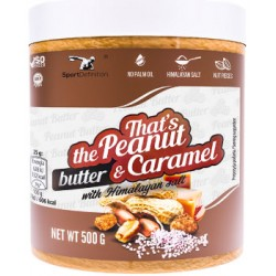 SPORT DEFINITION - THAT'S THE PEANUT BUTTER & CARMEL 500GR