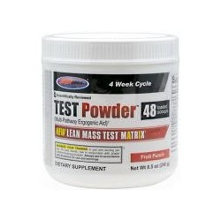 USP LABS - TEST POWDER -FRUIT PUNCH - 240GR