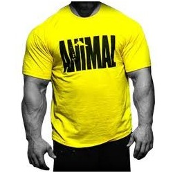 T-SHIRT ANIMAL - YELLOW
