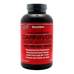 MUSCLEMEDS - CARNIVOR BEEF AMINOS 300 TABS