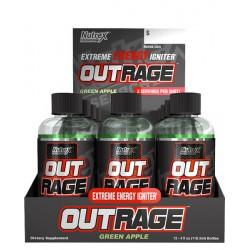 NUTREX - OUTRAGE XTREME ENERGY 12 X SHOT