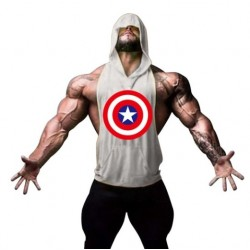 TANK TOP - CAPTAN AMERICA XL