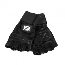 BETTER BODIES - GYM GLOVES 2IN1- BLACK