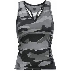 CHERRY H.CAMO T-BACK GREY CAMO LARGE