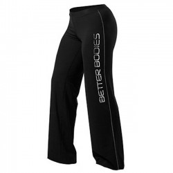 FITNESS LOOSE PANT BLACK LARGE