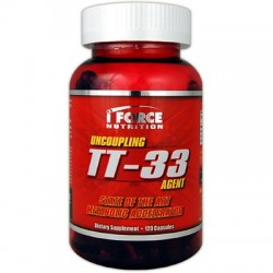 I-FORCE NUTRITION - TT-33 METABOLIC ACCELERATOR 120 CAPS