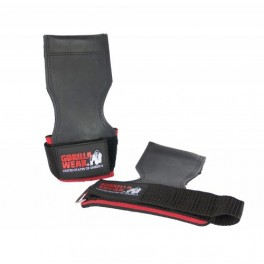 GW LIFTING GRIPS - Black/red - one size